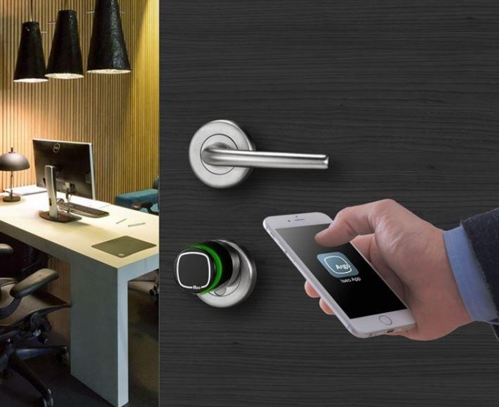 Cerradura electronica control de acceso (2)
