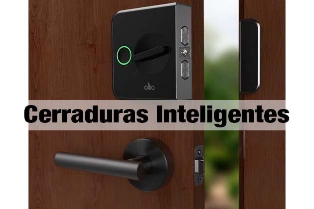 Cerraduras inteligentes control de acceso
