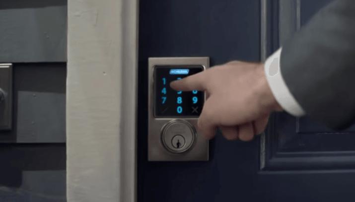 control de acceso inalambrico puerta
