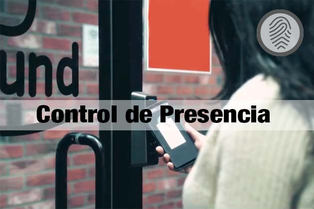 Control de acceso presencia