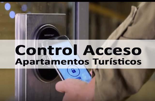 control acceso apartamentos