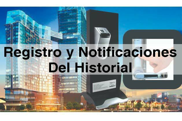Registro Y Notificaciones Del Historial